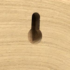 Holzbild - Aufhänger