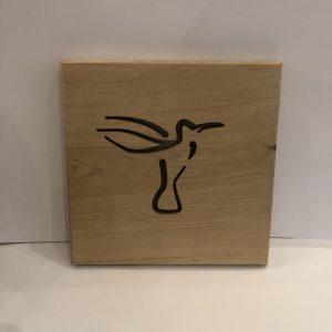 Holzbild Kolibri